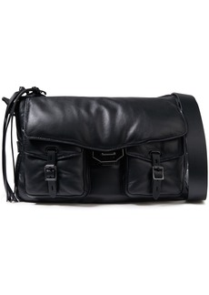 Rag & Bone Woman Field Puffer Leather Shoulder Bag Black