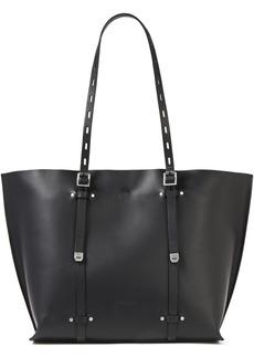 Rag & Bone Woman Field Studded Leather Tote Black