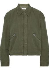 Rag & Bone Woman Fleet Cotton-canvas Jacket Army Green