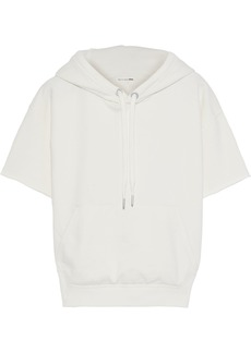 Rag & Bone Woman French Cotton-terry Hoodie Ivory