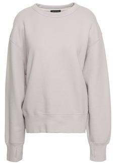 Rag & Bone Woman French Cotton-terry Sweatshirt Lilac