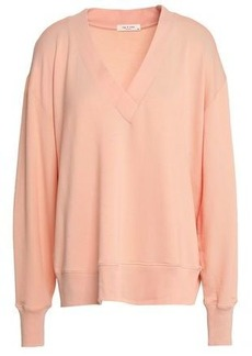 Rag & Bone Woman French Modal-blend Terry Top Peach