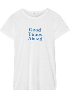 Rag & Bone Woman Good Times Printed Pima Cotton-jersey T-shirt White