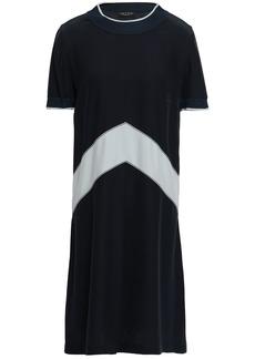 Rag & Bone Woman Hannah Silk-cady Mini Dress Midnight Blue