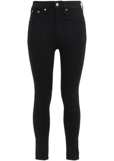 Rag & Bone Woman High-rise Skinny Jeans Black