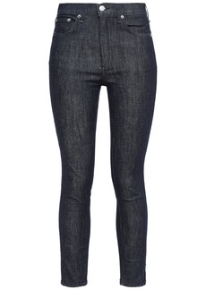 Rag & Bone Woman High-rise Skinny Jeans Dark Denim