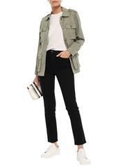 Rag & Bone Woman High-rise Straight-leg Jeans Black