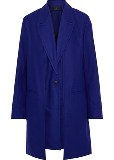 Rag & Bone Woman Kaye Convertible Wool-blend Felt Coat Royal Blue