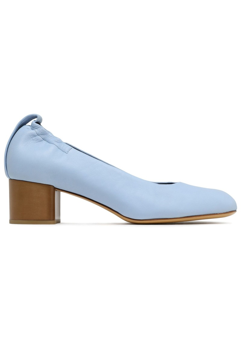 Rag & Bone Woman Leather Pumps Sky Blue