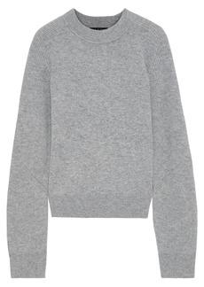 Rag & Bone Woman Logan Ribbed Cashmere Sweater Gray