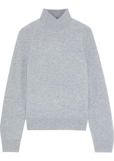 Rag & Bone Woman Logan Ribbed Cashmere Turtleneck Sweater Stone