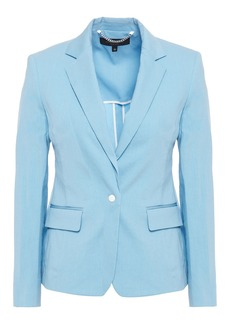 Rag & Bone Woman Lucy Linen-blend Blazer Light Blue