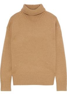 Rag & Bone Woman Lunet Wool Turtleneck Sweater Sand
