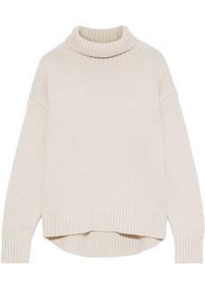 Rag & Bone Woman Lunet Wool Turtleneck Sweater Ecru