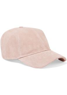 Rag & Bone Woman Marilyn Suede Baseball Cap Baby Pink