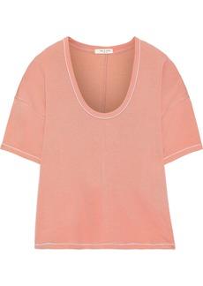 Rag & Bone Woman Marlon Modal-blend T-shirt Antique Rose