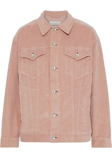 Rag & Bone Woman Max Cotton-blend Corduroy Jacket Blush