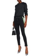 Rag & Bone Woman Mazie High-rise Skinny Jeans Charcoal