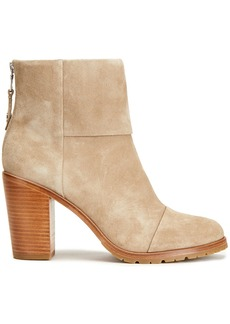 Rag & Bone Woman Newbury 2.0 Suede Ankle Boots Beige