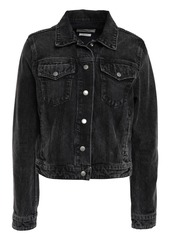 Rag & Bone Woman Nico Denim Jacket Charcoal