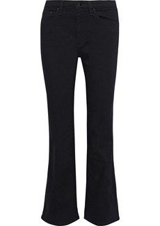 Rag & Bone Woman Nina High-rise Bootcut Jeans Black