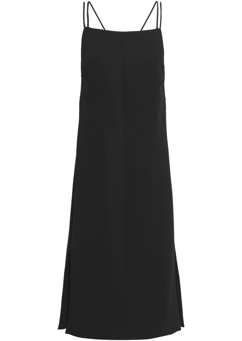 Rag & Bone Woman Open-back Cady Dress Black