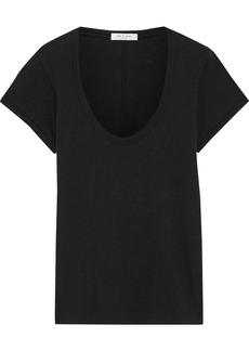 Rag & Bone Woman Pima Cotton-jersey T-shirt Black