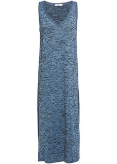 Rag & Bone Woman Ramona Marled Jersey Midi Dress Azure