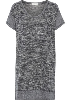 Rag & Bone Woman Ramona Marled Jersey Mini Dress Gray