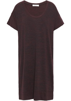 Rag & Bone Woman Ramona Marled Jersey Mini Dress Merlot