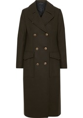 Rag & Bone Woman Remington Double-breasted Wool-blend Felt Coat Army Green