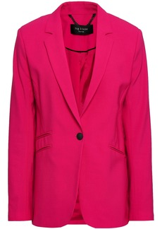 Rag & Bone Woman Ridley Stretch-wool Blazer Fuchsia