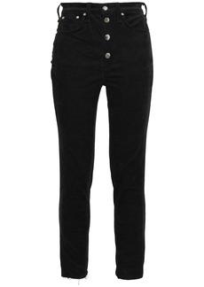 Rag & Bone Woman Rosie Cotton-blend Corduroy Skinny Pants Black