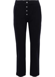 Rag & Bone Woman Sailor Wool-blend Jersey Track Pants Indigo