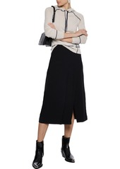 Rag & Bone Woman Shannon Merino Wool Hoodie Off-white