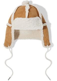 Rag & Bone Woman Shearling Hat Camel