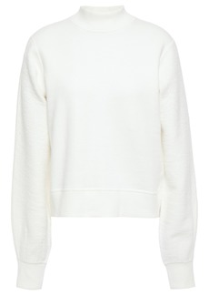 Rag & Bone Woman Sherie Paneled Cotton-terry Sweatshirt White