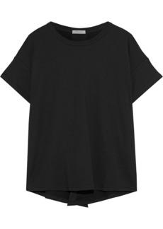 Rag & Bone Woman Striped Modal-blend T-shirt Black