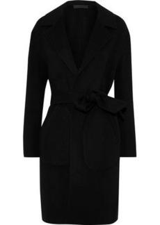 Rag & Bone Woman Sven Reversible Checked Wool-blend Felt Coat Black