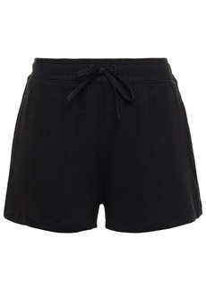 Rag & Bone Woman The Knit Stretch-knit Shorts Black