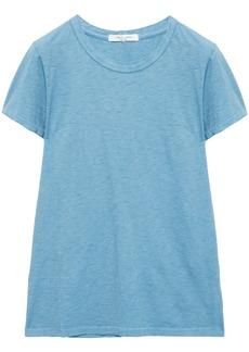 Rag & Bone Woman The Tee Pima Cotton-jersey T-shirt Light Blue