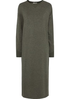 Rag & Bone Woman Townes Modal-blend Jersey Midi Dress Army Green