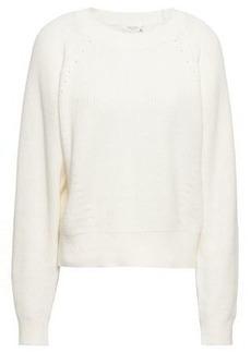 Rag & Bone Woman Wheeler Cotton Sweater Off-white