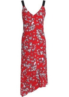 Rag & Bone Woman Zoe Printed Silk Crepe De Chine Dress Red