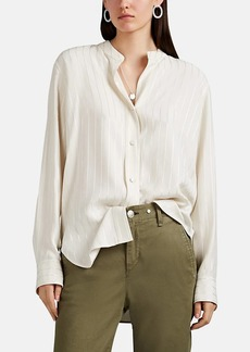 Rag & Bone Women's Adrian Striped Button-Front Blouse