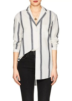 Rag & Bone Women's Alyse Striped Cotton-Linen Blouse