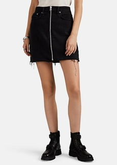 Rag & Bone Women's Anna Denim Miniskirt