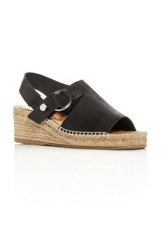 rag & bone Women's Arc Slingback Platform Wedge Espadrille Sandals