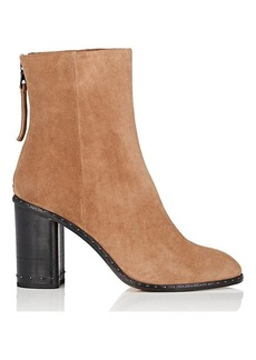Rag & Bone Women's Blyth Studded Suede Ankle Boots