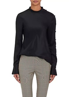 Rag & Bone Women's Bretton Silk Buttoned Blouse
